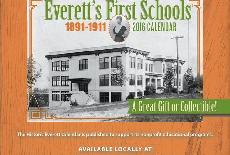 Everett's First Schools, 2016 calendar